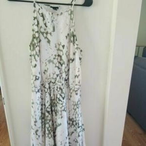 Mossimo Medium Midi Patterned Dress